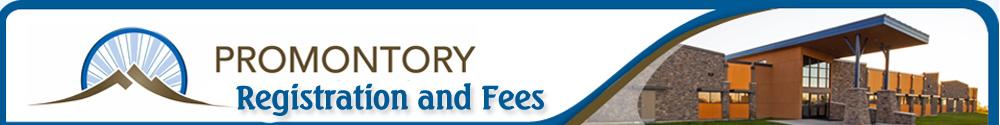 Promontory - Registration & Fees