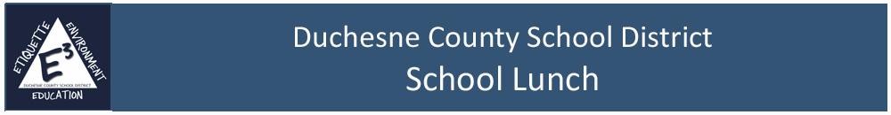 Duchesne County Student School Lunch