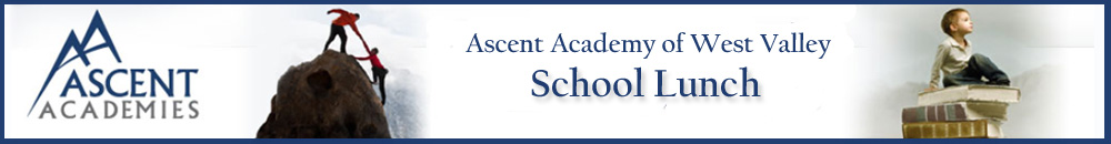 Ascent Academy of West Valley Student Lunch